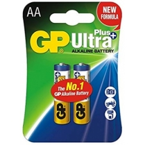 GP Ultra Plus Alkaline 15AUP U2, LR6, AA