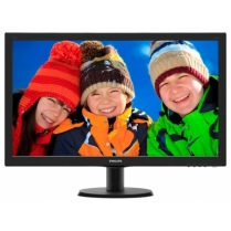 Monitor Philips 243V5LHAB5 Black