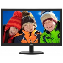 Monitor Philips 223V5LSB Black 21.5