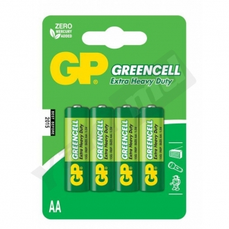 GP Greencell 15G U4, AA